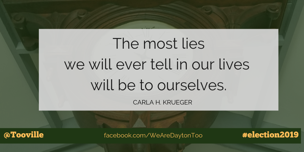 Quotation from Carla H. Krueger